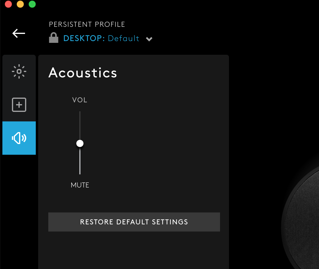 G560 EQ not option not available on macOS in G HUB – Logitech การ